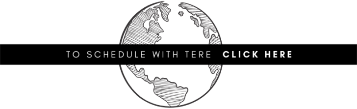 """button graphic: """"to schedule with Tere click here"""""""